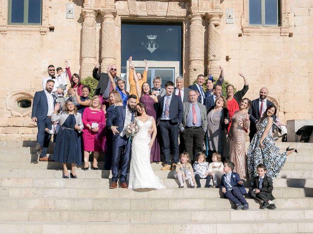 La boda de Alejandro y Lorena en Torredembarra, Tarragona 37