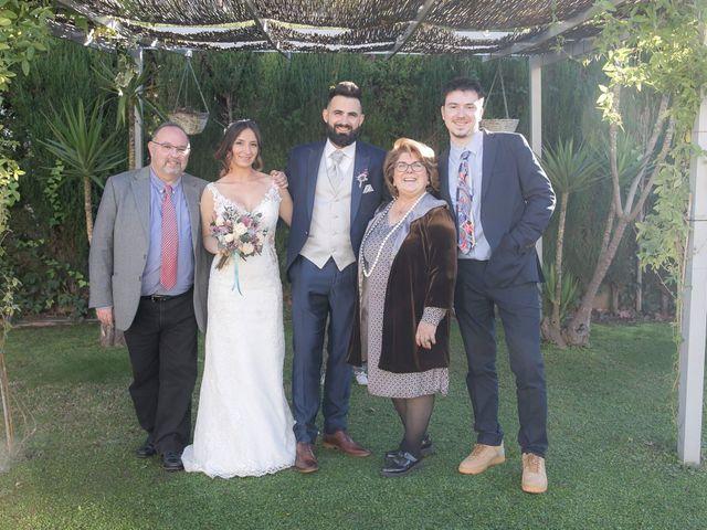La boda de Alejandro y Lorena en Torredembarra, Tarragona 86