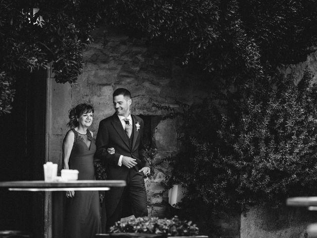 La boda de Dani y Anna en Sant Marti De Tous, Barcelona 2