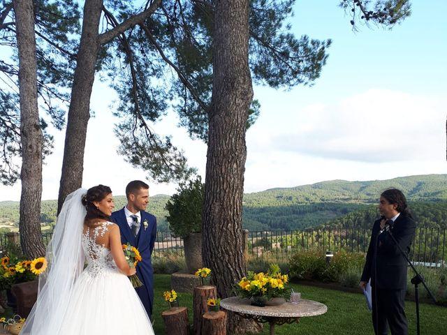 La boda de Dani y Anna en Sant Marti De Tous, Barcelona 11