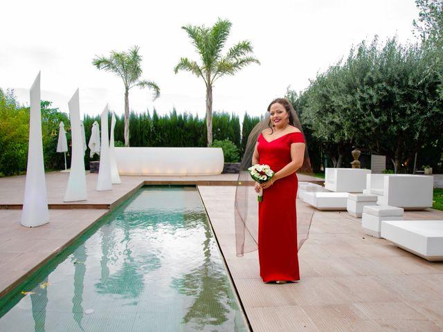 La boda de Javier y Olga en El Puig, Valencia 2