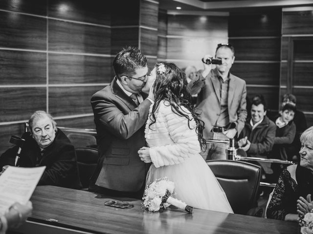La boda de David y Kristina en Madrid, Madrid 16