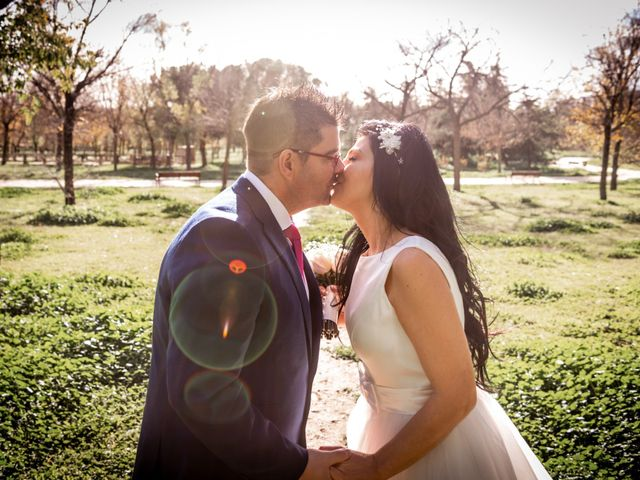 La boda de David y Kristina en Madrid, Madrid 20