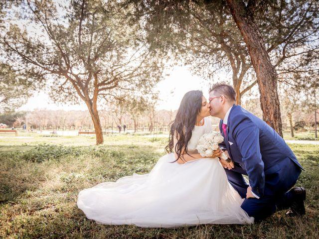 La boda de David y Kristina en Madrid, Madrid 22