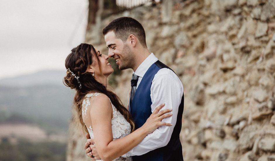 La boda de Dani y Anna en Sant Marti De Tous, Barcelona