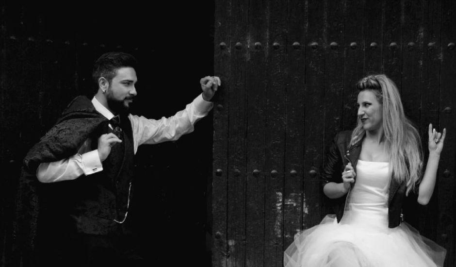 La boda de Alberto  y Mayte  en Santacara, Navarra