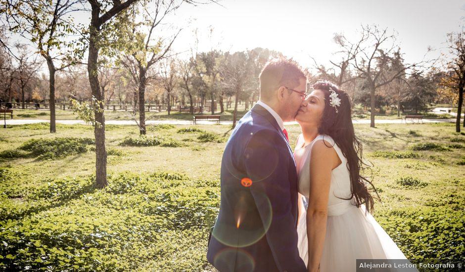 La boda de David y Kristina en Madrid, Madrid