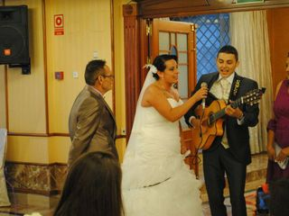 La boda de Carlos y Ariana
