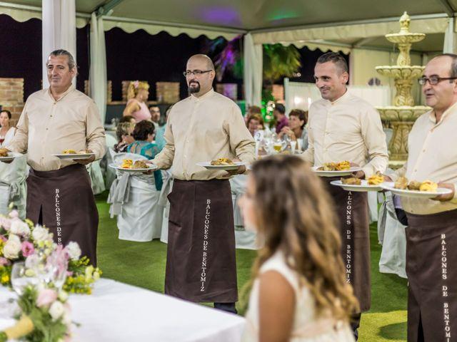 La boda de Allan David y Rocío en Arenas, Málaga 40