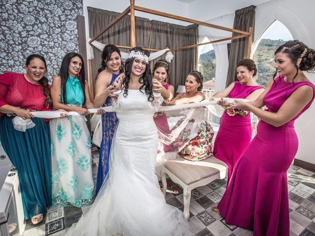 La boda de Allan David y Rocío en Arenas, Málaga 15