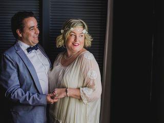 La boda de Caroline Hanssen y Manuel Portales