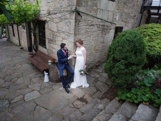 La boda de Antón y Patri en Bertamirans (Ames), A Coruña 8