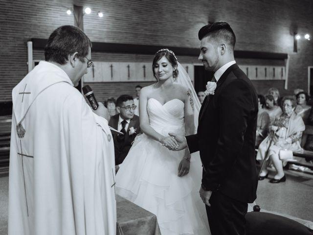 La boda de Cristian y Sara en Madrid, Madrid 37
