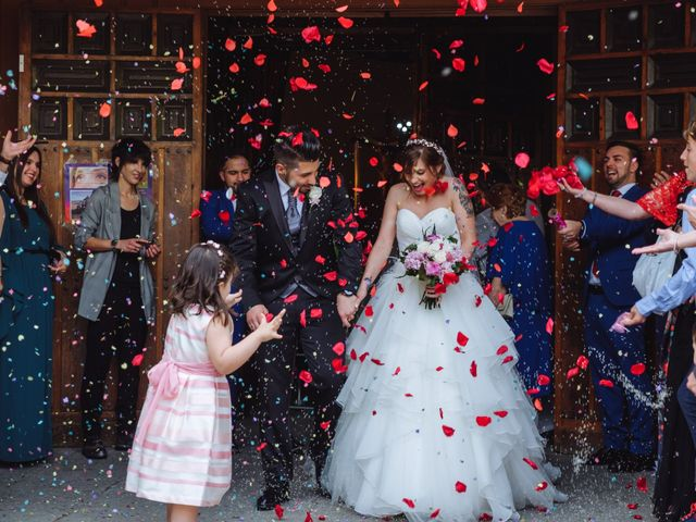 La boda de Cristian y Sara en Madrid, Madrid 41