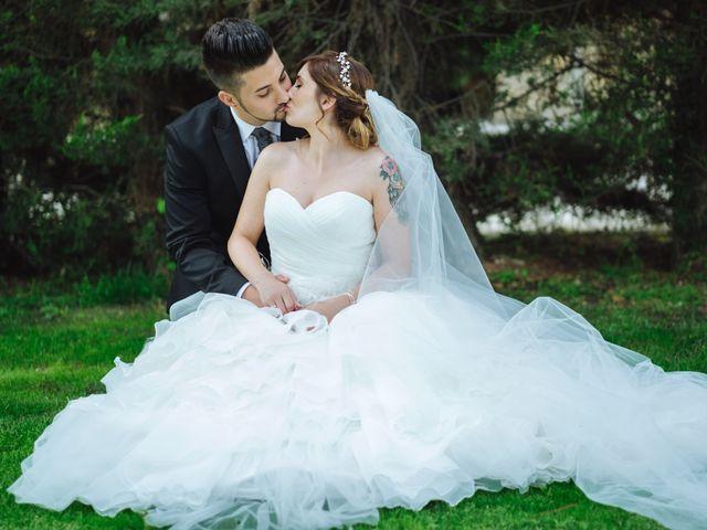 La boda de Cristian y Sara en Madrid, Madrid 56