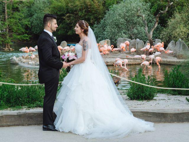 La boda de Cristian y Sara en Madrid, Madrid 58