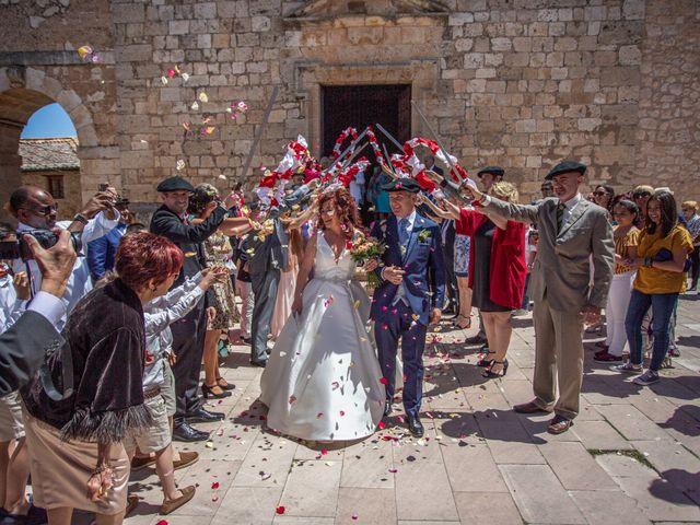La boda de Sergio y Ainhoa en Ayllon, Segovia 1