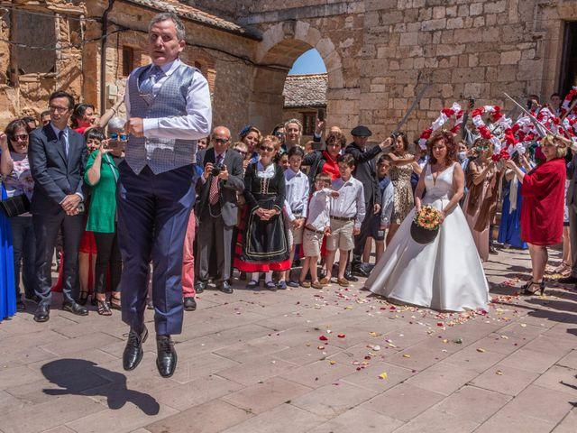 La boda de Sergio y Ainhoa en Ayllon, Segovia 3