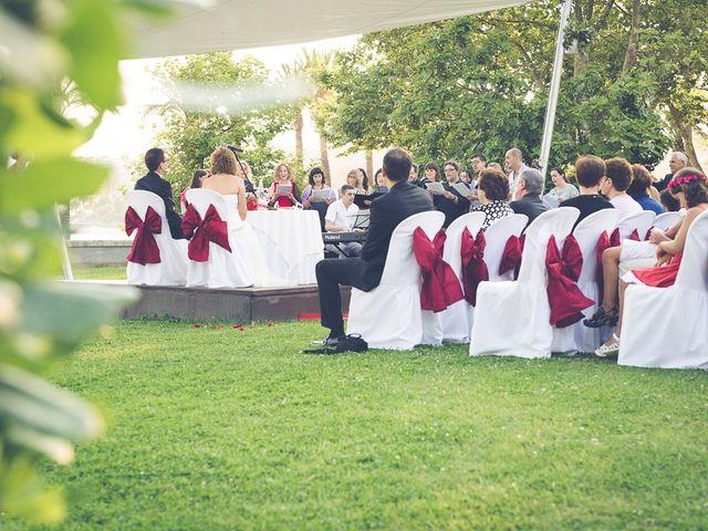 La boda de Jesús y Jeru en S'agaro, Girona 8