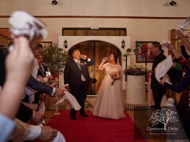 La boda de Francisco y Esther en Almodovar Del Rio, Córdoba 1