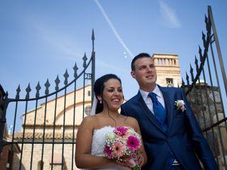 La boda de Melodye y David