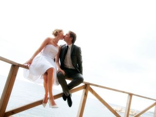La boda de Myriam y Thomas