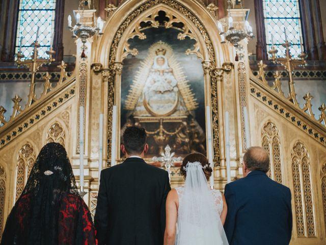 La boda de Jose Antonio y Rocio en Lora Del Rio, Sevilla 31