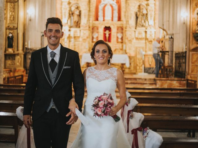 La boda de Jose Antonio y Rocio en Lora Del Rio, Sevilla 32