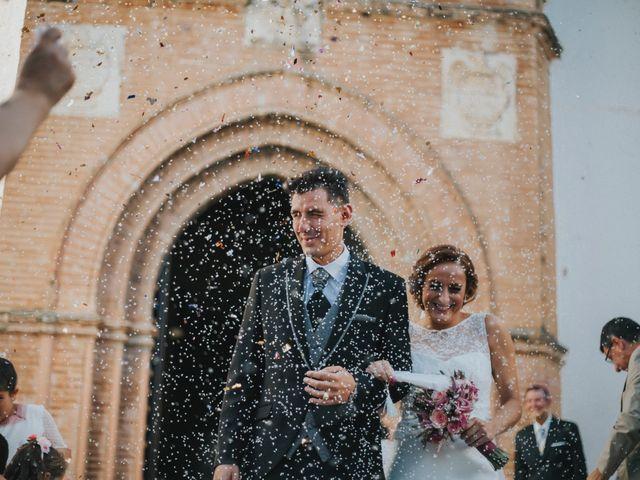 La boda de Jose Antonio y Rocio en Lora Del Rio, Sevilla 34