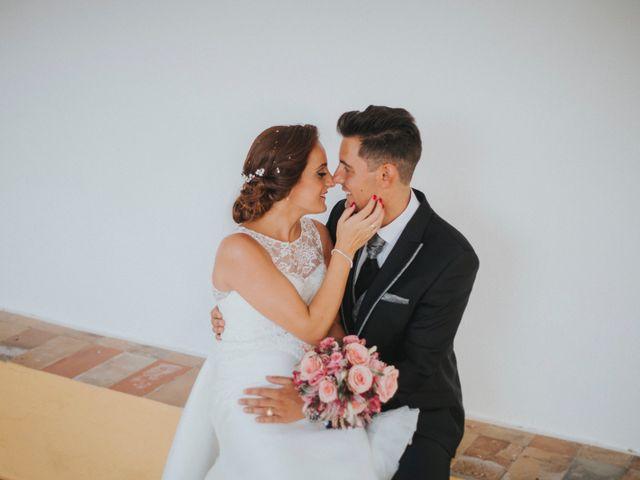 La boda de Jose Antonio y Rocio en Lora Del Rio, Sevilla 47