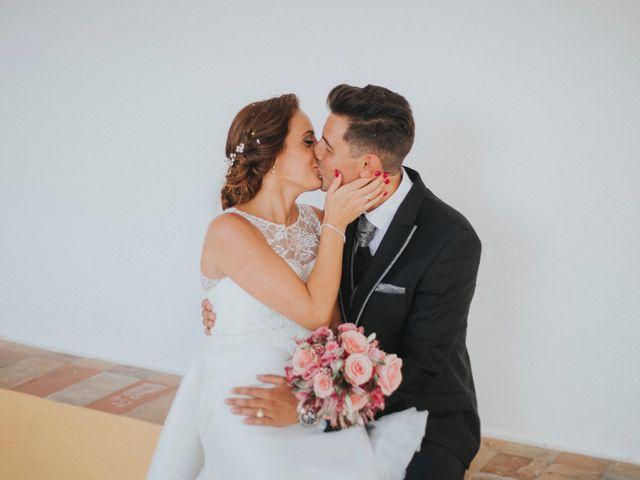 La boda de Jose Antonio y Rocio en Lora Del Rio, Sevilla 48