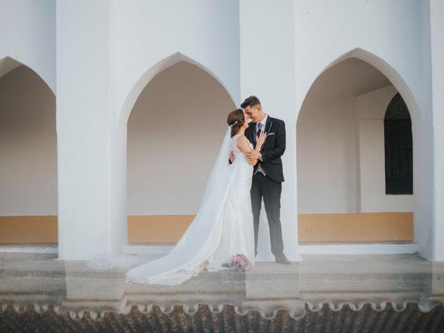 La boda de Jose Antonio y Rocio en Lora Del Rio, Sevilla 49