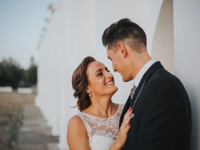 La boda de Jose Antonio y Rocio en Lora Del Rio, Sevilla 50