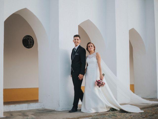La boda de Jose Antonio y Rocio en Lora Del Rio, Sevilla 51