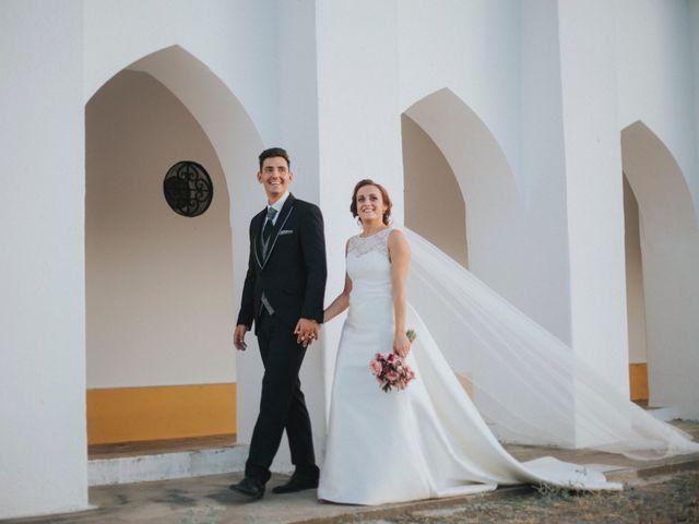 La boda de Jose Antonio y Rocio en Lora Del Rio, Sevilla 52