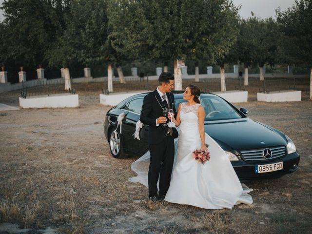 La boda de Jose Antonio y Rocio en Lora Del Rio, Sevilla 54
