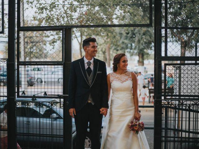La boda de Jose Antonio y Rocio en Lora Del Rio, Sevilla 55