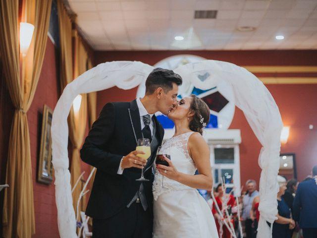 La boda de Jose Antonio y Rocio en Lora Del Rio, Sevilla 57