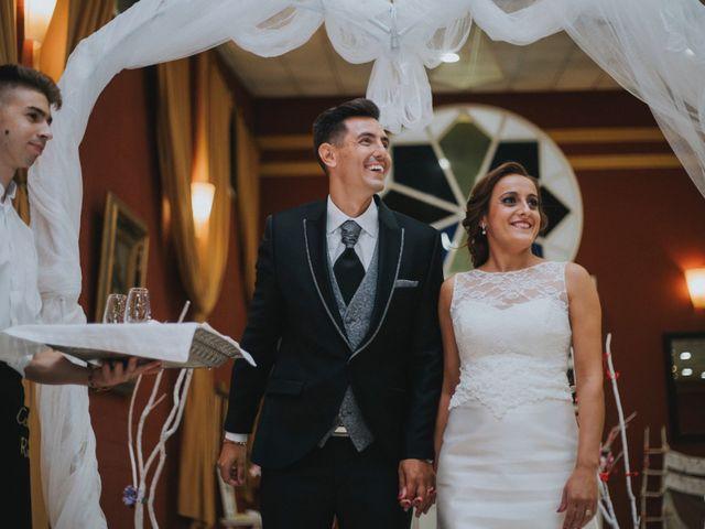 La boda de Jose Antonio y Rocio en Lora Del Rio, Sevilla 59