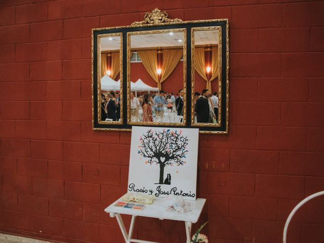 La boda de Jose Antonio y Rocio en Lora Del Rio, Sevilla 60