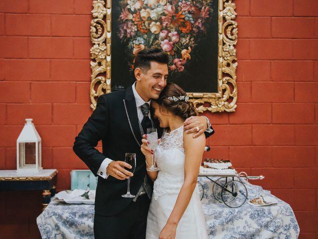La boda de Jose Antonio y Rocio en Lora Del Rio, Sevilla 63