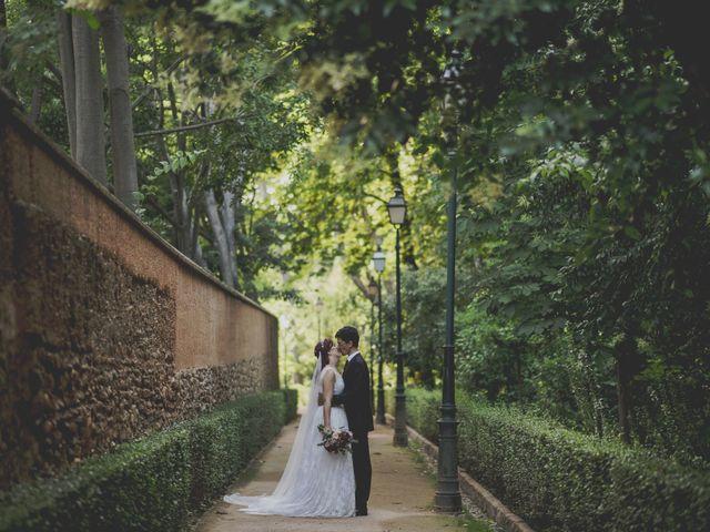 La boda de Rafa y Elena en Granada, Granada 44