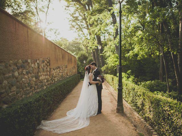 La boda de Rafa y Elena en Granada, Granada 45
