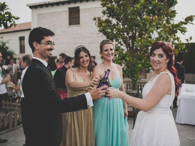 La boda de Rafa y Elena en Granada, Granada 64