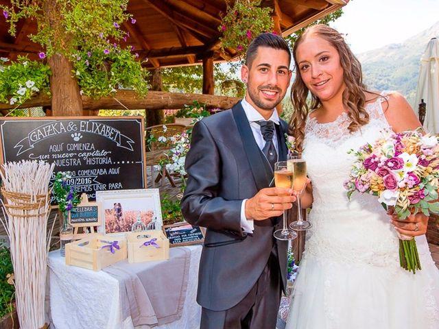 La boda de Elizabeth y Gaizka
