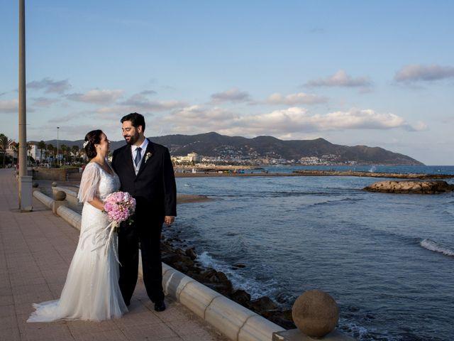 La boda de Jordi y Rosa en Sitges, Barcelona 45