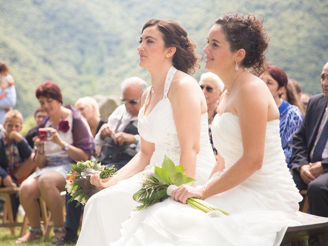 La boda de Mònica y Judith