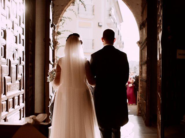 La boda de Manu y Lourdes en Gibraleon, Huelva 4