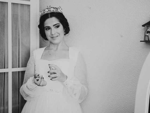 La boda de Manu y Lourdes en Gibraleon, Huelva 45