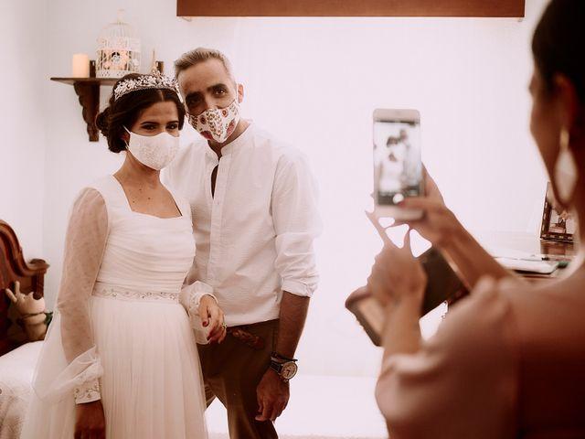 La boda de Manu y Lourdes en Gibraleon, Huelva 53